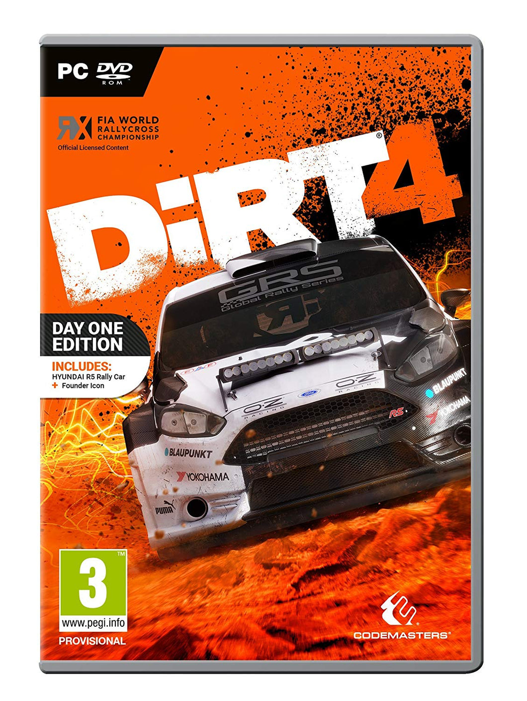 DIRT 4 - EU Packaging
