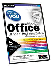 Load image into Gallery viewer, TEACHING YOU MICROSOFT OFFICE XP/2000 BEGINNERS EDITION