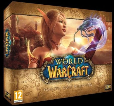 WORLD OF WARCRAFT - BATTLE CHEST - German Packaging
