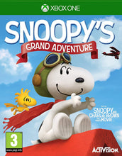 Load image into Gallery viewer, PEANUTS: SNOOPY'S GRAND ADVENTURE - Italian Packaging
