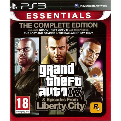 GRAND THEFT AUTO IV: COMPLETE EDITION - French Packaging