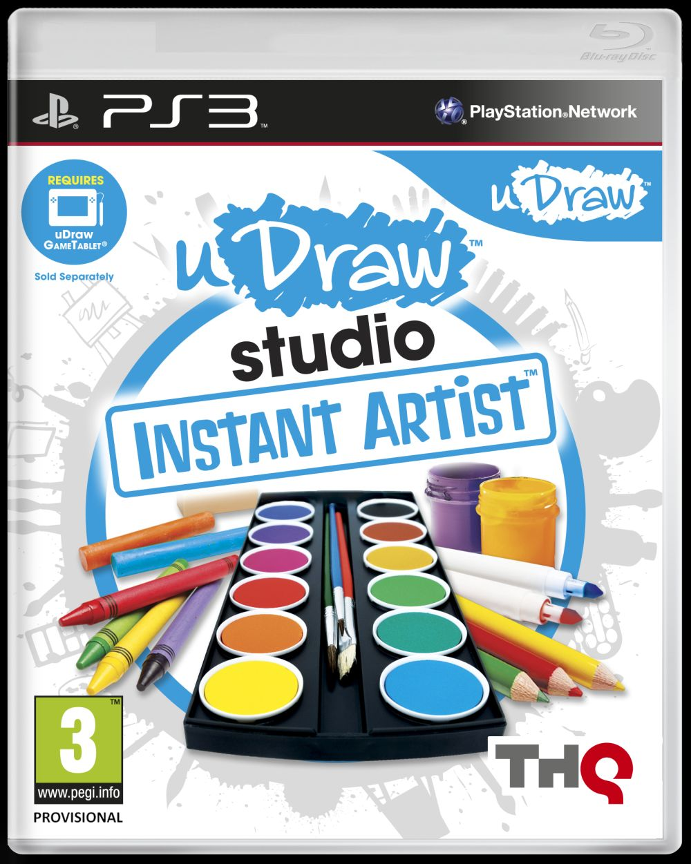 uDRAW INSTANT ARTIST - GAME ONLY