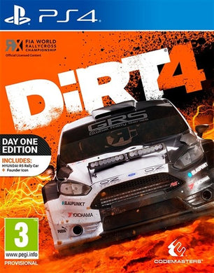 DIRT 4 - Steelbook Edition (Dented) - EU Packaging