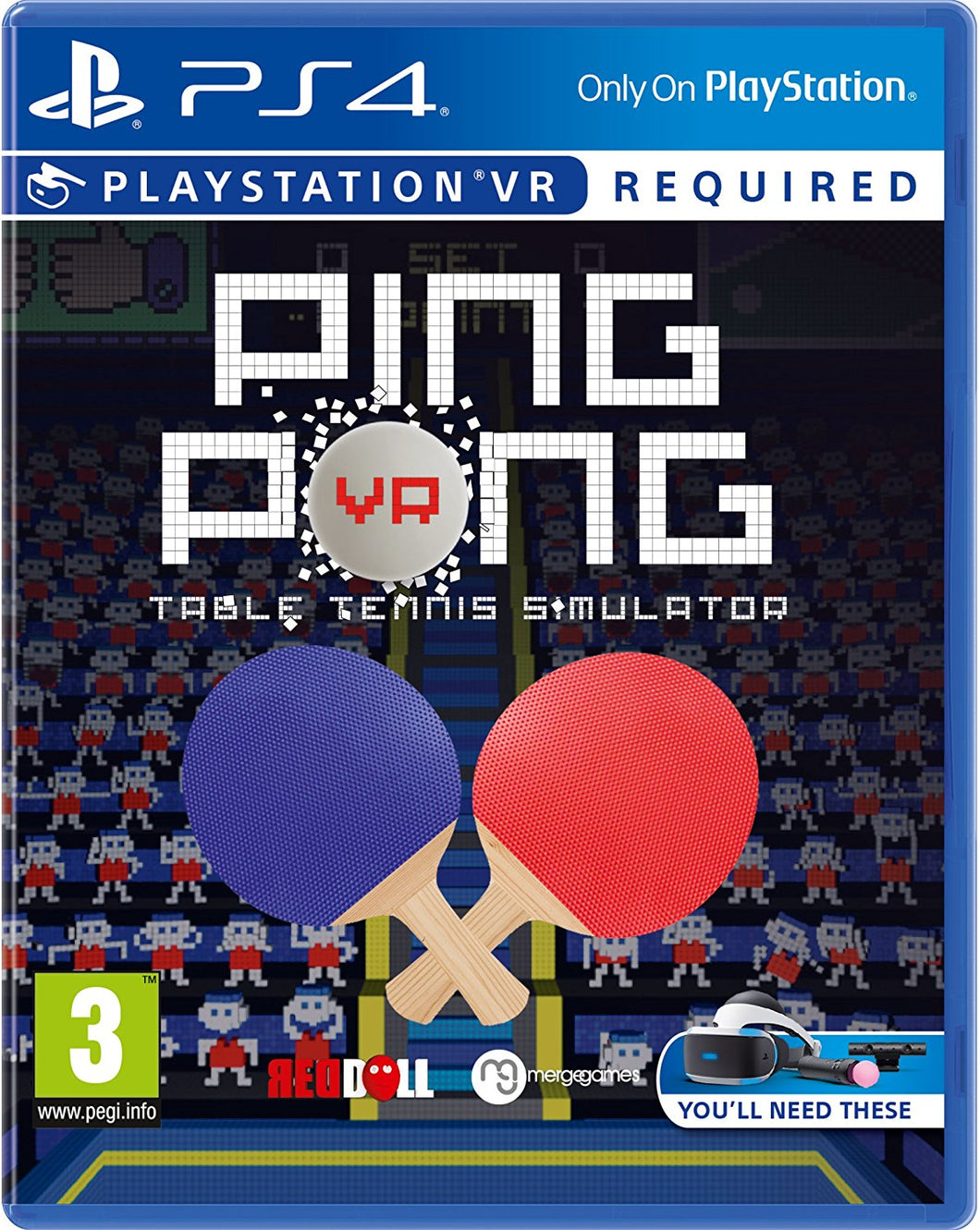 PING PONG - Table Tennis Simulator - FRENCH Packaging