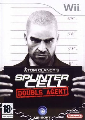TOM CLANCY'S SPLINTER CELL: DOUBLE AGENT - No sleeve