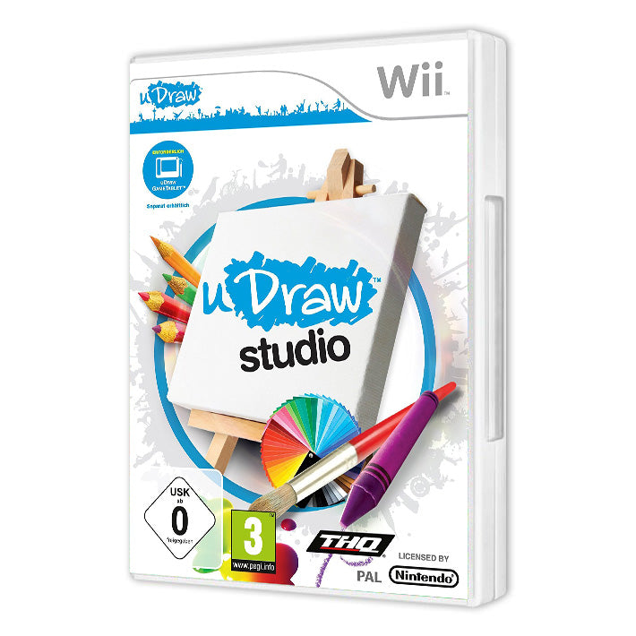 uDRAW STUDIO - GAME ONLY