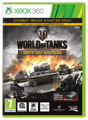 WORLD OF TANKS - includes Premium Panzer Tank DLC - Portuguese Packaging