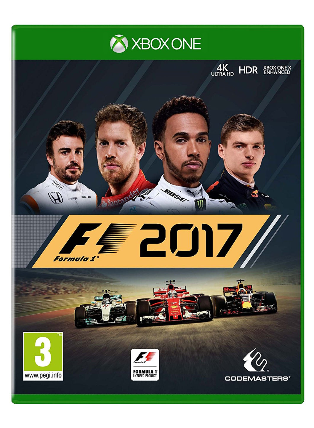 F1 2017 - EU Packaging - Disc Only