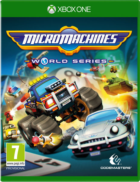 MICRO MACHINES: World Series - EU Packaging