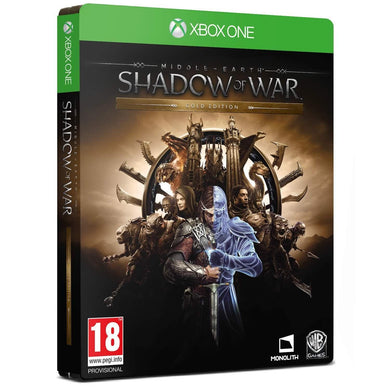 MIDDLE EARTH: Shadow of War - Steelbook Edition (Gold)