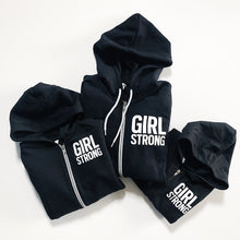 Load image into Gallery viewer, GIRL STRONG FULL-ZIP HOODIE