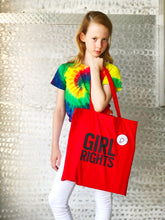 Load image into Gallery viewer, A GUNNER & LUX AND GIRL WONDERFUL COLLABORATION // GIRL RIGHTS TOTE