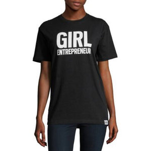 Girl Entrepreneur in black, adult and youth sizes, a collaboration with Bobbi Brown, #entrepreneur, #girlentrepreneur, #girlwonderful