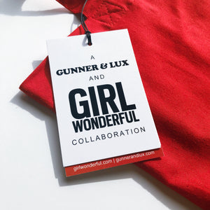 A GUNNER & LUX AND GIRL WONDERFUL COLLABORATION // GIRL RIGHTS TOTE