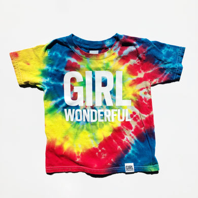 TIE DYE GIRL WONDERFUL T-SHIRT