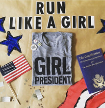 Load image into Gallery viewer, GIRL PRESIDENT T-SHIRT