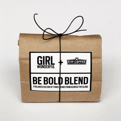BE BOLD BLEND WHOLE BEAN COFFEE 4OZ