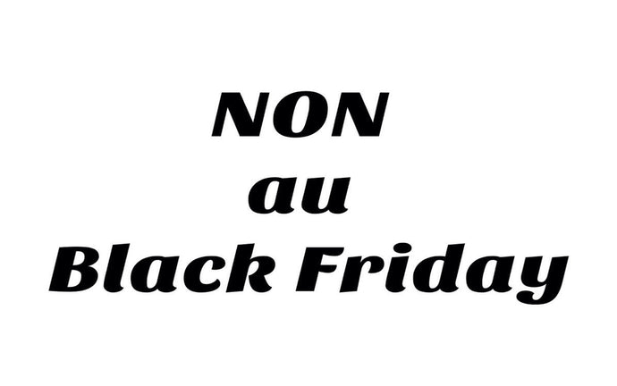 Non au Black Friday , Oui au Climate Friday !