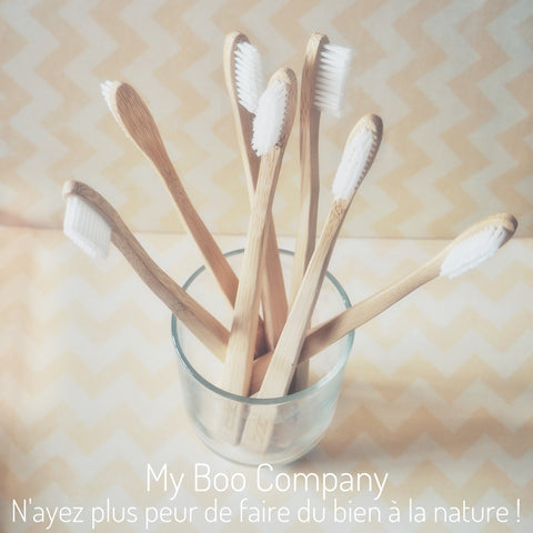 Brosse à dent my boo company en bambou