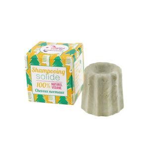 Shampooing solide - Cheveux normaux au pin sylvestre - Lamazuna - Green & Folk