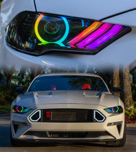 Load image into Gallery viewer, 2018+ Ford Mustang Projector Halo Kit