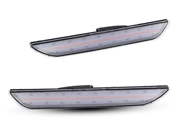 LED Rear Side Marker Lights (Smoked/Clear)