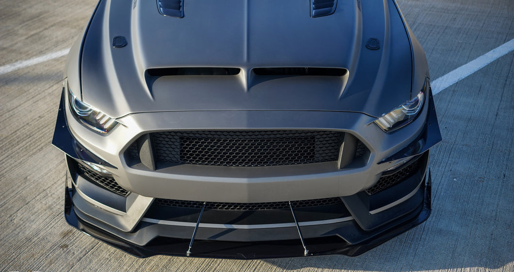 2015-2017 Ford Mustang GT350 Front Splitter (MP Concepts Bumper)