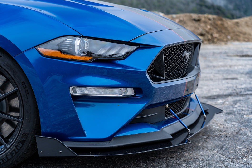 2018+ Ford Mustang Front Splitter (GT Performance Package)