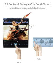 "Load image into Gallery viewer, 12.1"" Vertical Touchscreen Infotainment System"