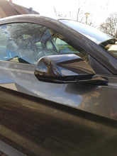 Load image into Gallery viewer, Carbon Fiber Side Mirror Cover Overlay