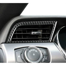 Load image into Gallery viewer, Red/Black Carbon Fiber Side Air Vents Trim