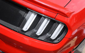Carbon Fiber S550 Mustang Taillight Trim