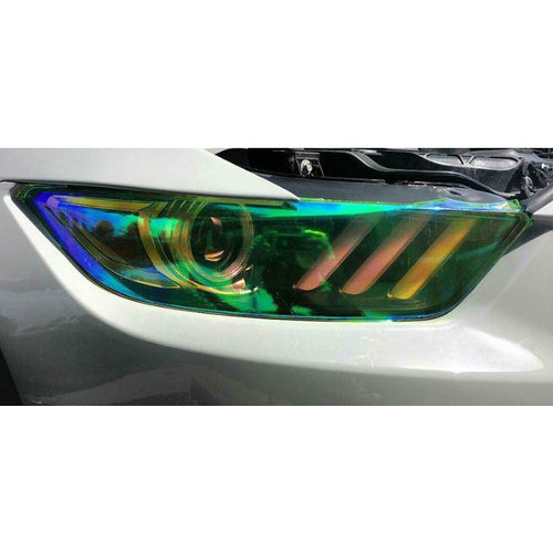 Chameleon Automotive Light Tint Vinyl