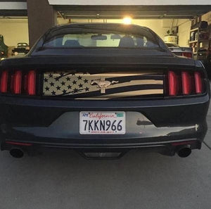 Distressed Decklid Flag