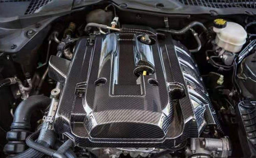 2.3 Ecoboost Carbon Fiber Engine Cover