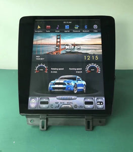 "12.1"" Vertical Touchscreen Infotainment System"