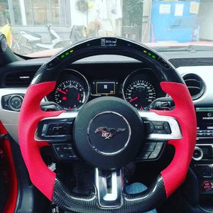 Carbon Fiber LED Steering Wheel
