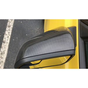 Carbon Fiber Side Mirror Cover Overlay