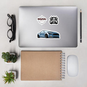 Mustang Variety 3 Pack Stickers