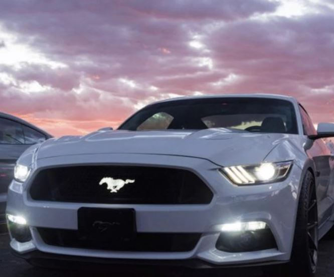 Ford Mustang Illuminated Pony Badge