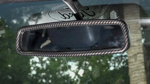 Carbon Fiber Rear View Mirror Trim
