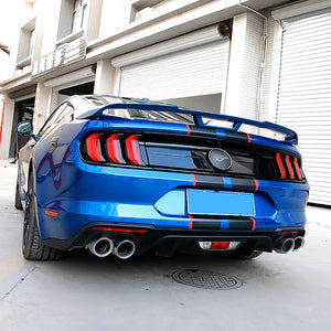 Taillight Blackout Covers - 2018+ Mustangs