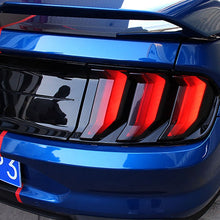Load image into Gallery viewer, Taillight Blackout Covers - 2018+ Mustangs