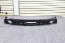 Load image into Gallery viewer, Dual Exhaust Carbon Fiber Rear Diffuser