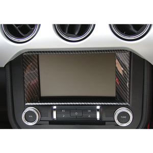 Carbon Fiber Central Screen Surround