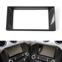 Load image into Gallery viewer, Carbon Fiber Central Screen Surround