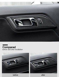 Carbon Fiber Door Handles Trim