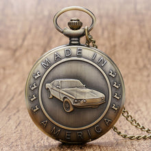 Load image into Gallery viewer, Classic Mustang Antique Pocket Watch