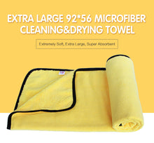 Load image into Gallery viewer, Super Absorbent Car Wash Microfiber Towel