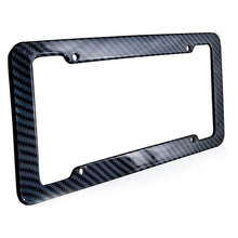 Load image into Gallery viewer, Carbon Fiber License Plate Frame